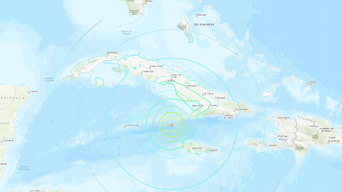jamaica earthquake - photo #2