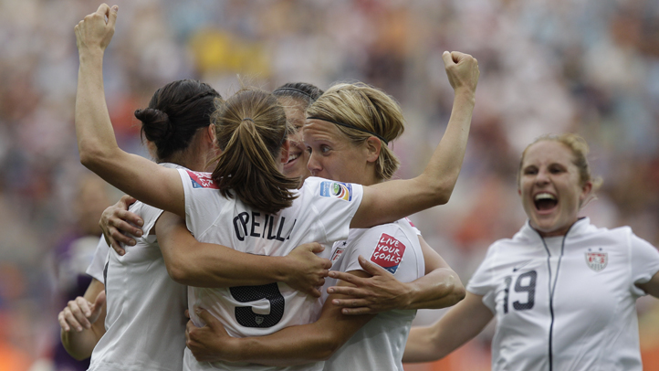 Germany Soccer WWCup US Colombia women's world cup