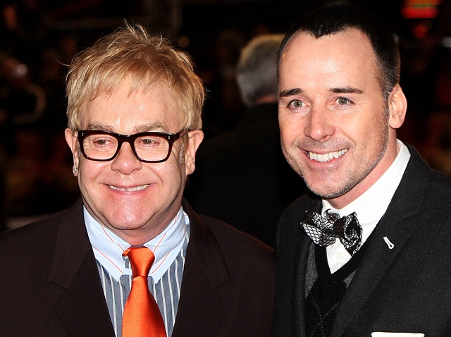 091109 Elton John David Furnish