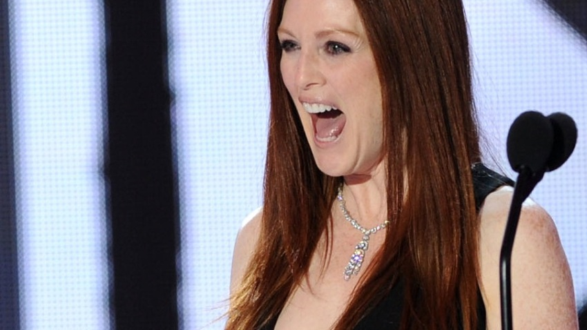 Julianne Moore Harvard Roast