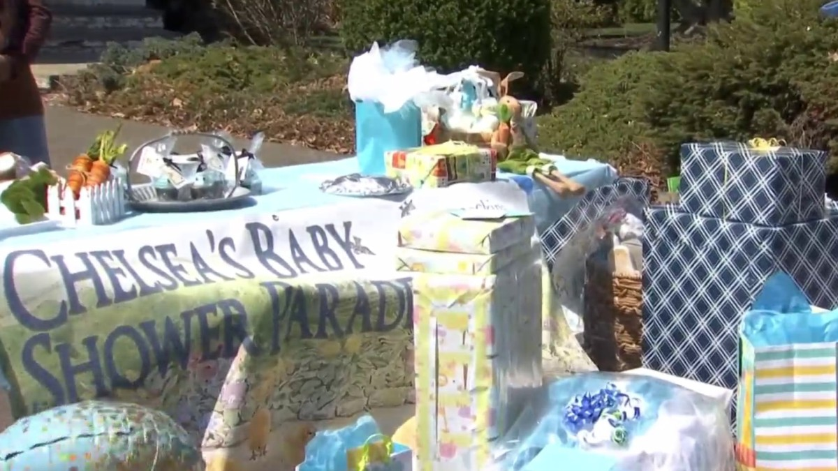 Drive-By Baby Shower Held for Expecting Couple - NBC ...
