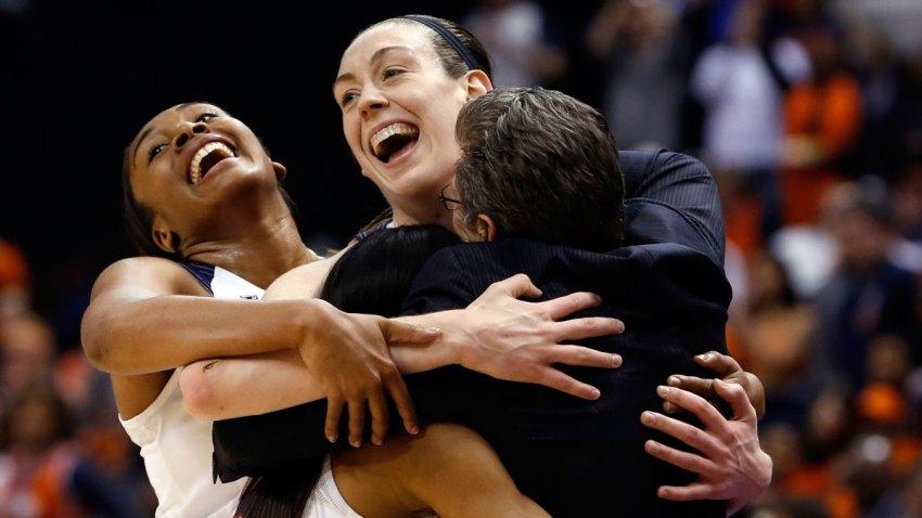 APTOPIX NCAA Championship Syracuse UConn Basketball