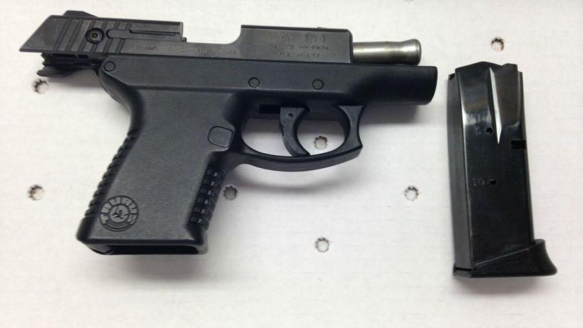 9mm handgun vernon