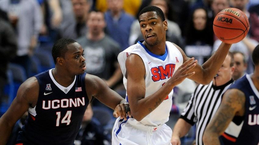 AAC SMU UConn Basketball
