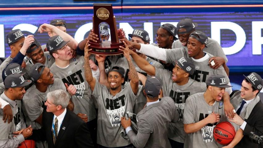 NCAA UConn Michigan St Basketball