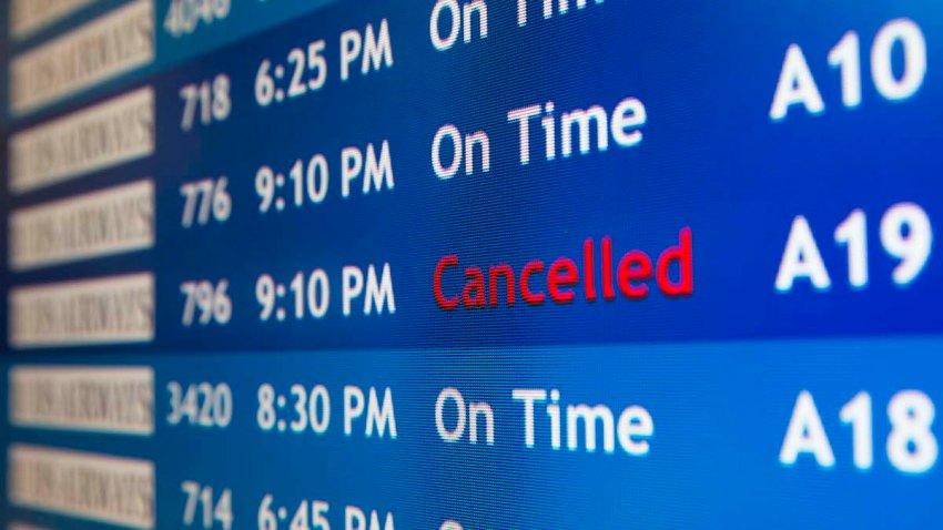 Flights Canceled Israel