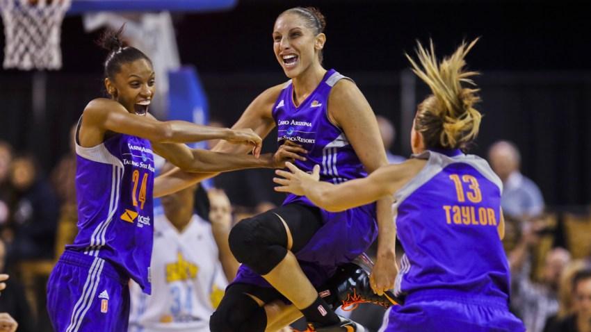 APTOPIX WNBA Finals Mercury Sky Basketball