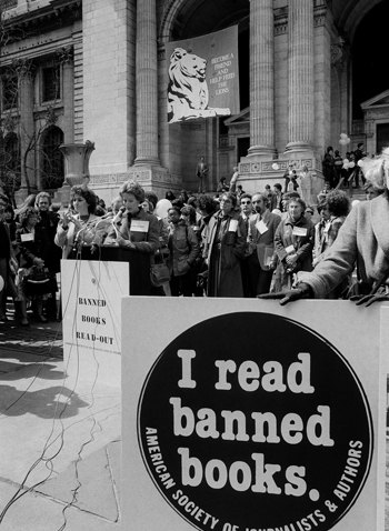 Banned Book Rally