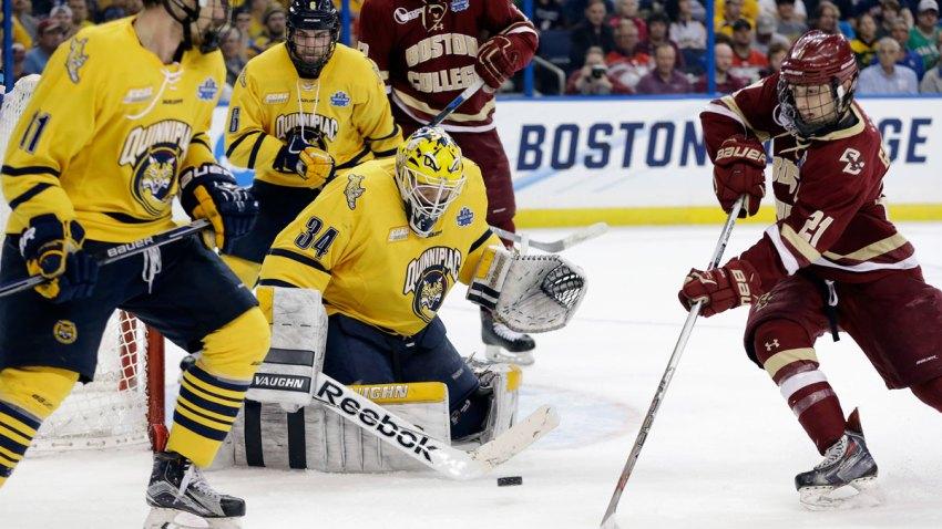Quinnipiac Boston College Hockey