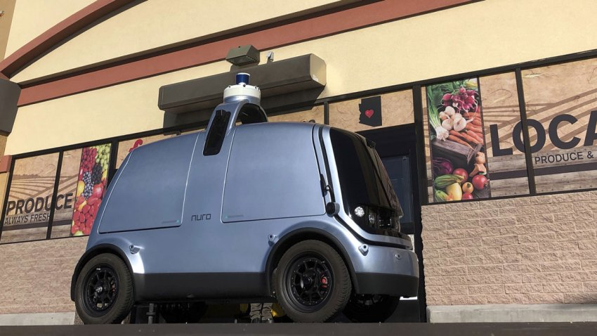 Driverless Grocery Delivery