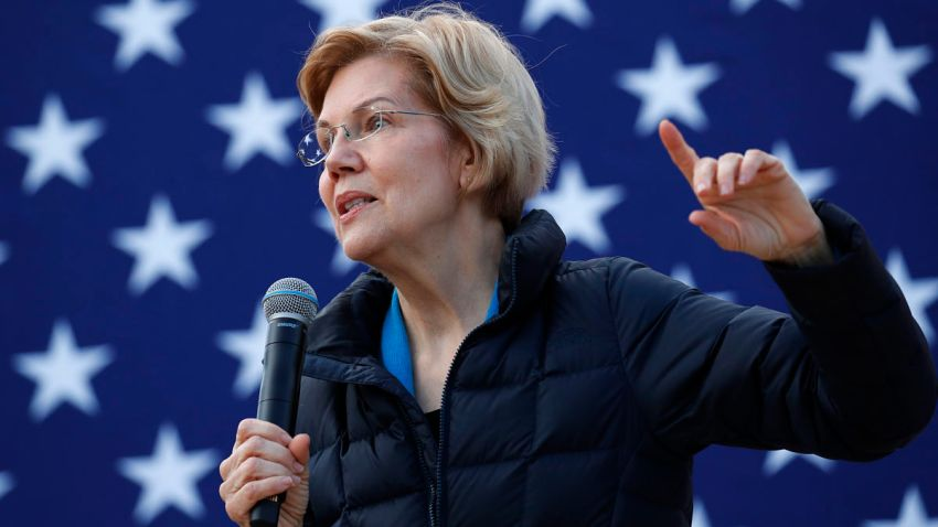 APTOPIX Election 2020 Elizabeth Warren