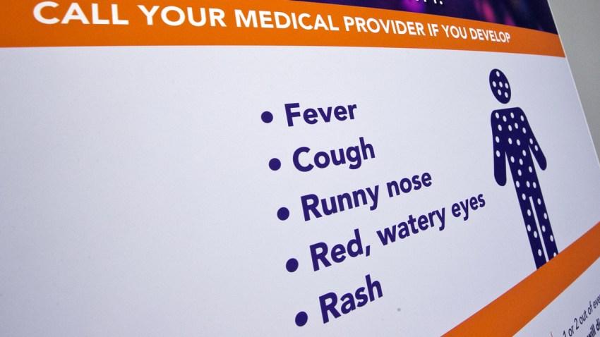 Measles California