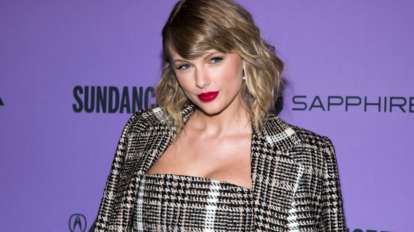 """Taylor Swift attends the premiere of """"Taylor Swift: Miss Americana"""" at the Eccles Theater during the 2020 Sundance Film Festival on Thursday, Jan. 23, 2020, in Park City, Utah."""