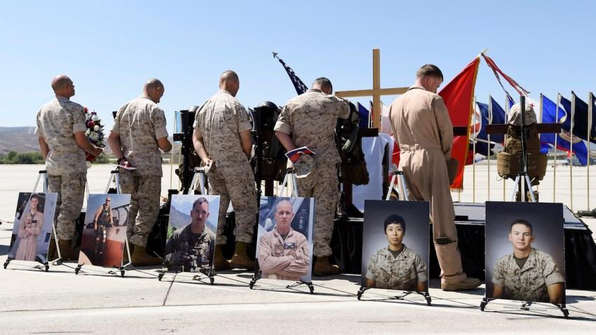 Marines Helicopter Crash Memorial