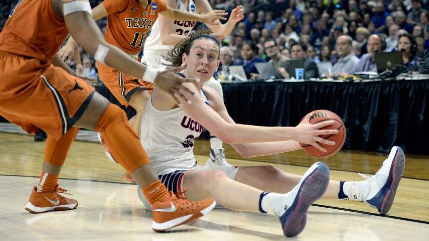 NCAA Texas UConn Basketball
