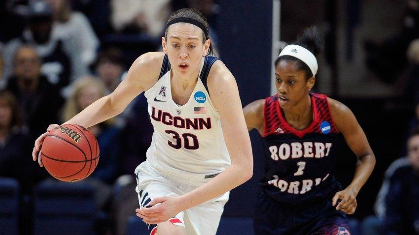 NCAA Robert Morris UConn Basketball