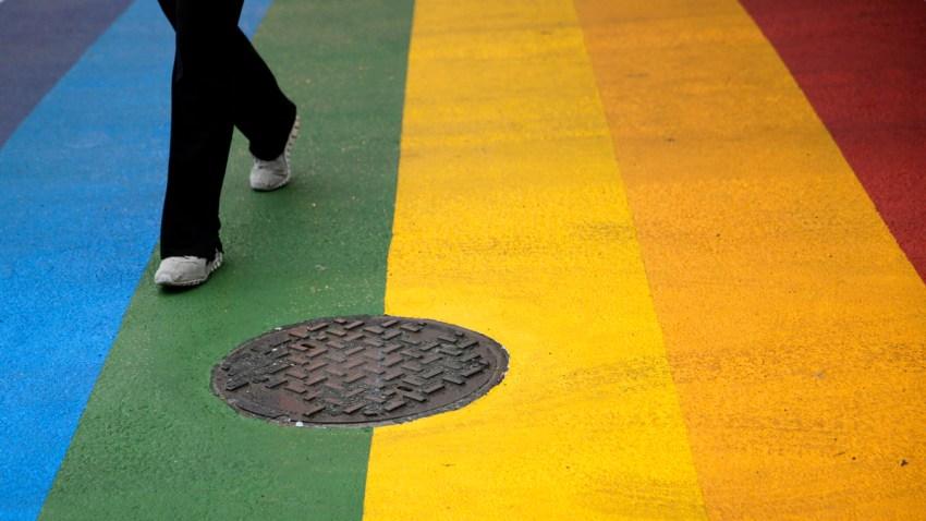 Rainbow Crosswalks Philadelphia