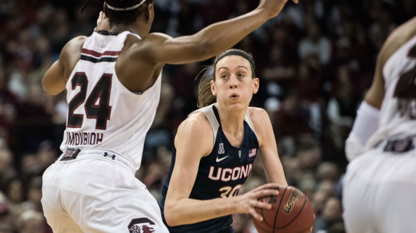APTOPIX UConn South Carolina Basketball