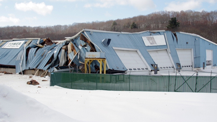 American Modular roof collapse 722