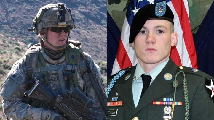 Army Specialist Philip C.S. Schiller split