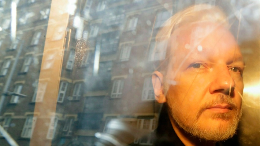 Britain Sweden Assange