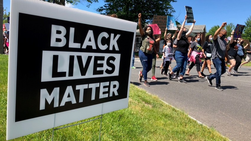 Black Lives Matter protest in Bloomefield