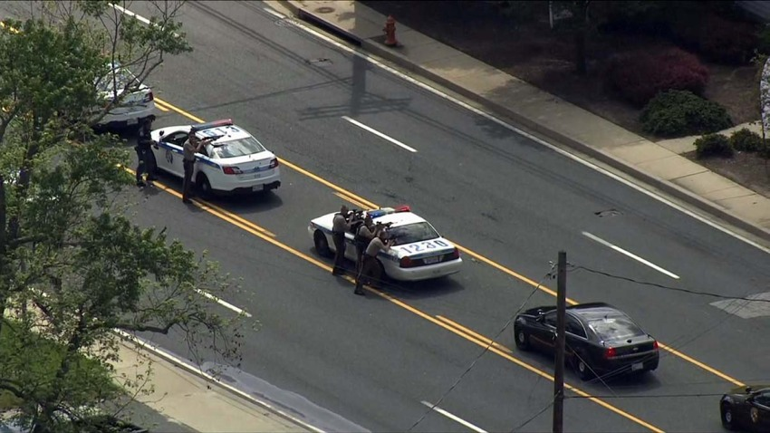 Baltimore Officer Shot 052118