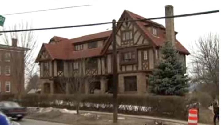 Beta House at Wesleyan
