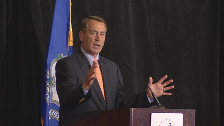 Boehner in Stamford 2011