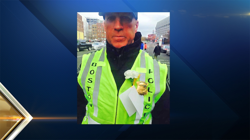 Boston Police Flower