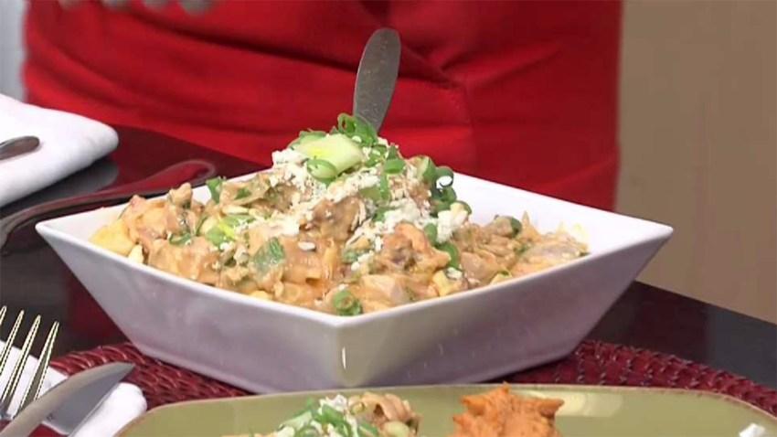 Buffalo Chicken and Potato Salad