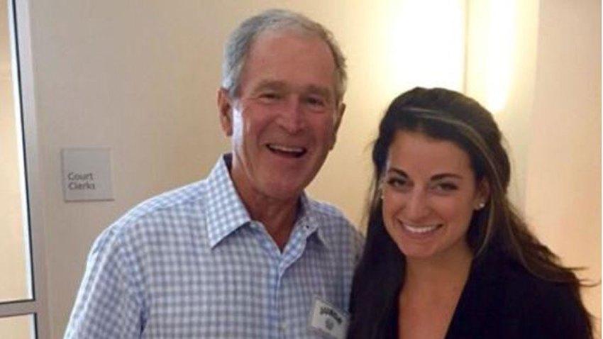 George W. Bush Reports for Jury Duty in Dallas