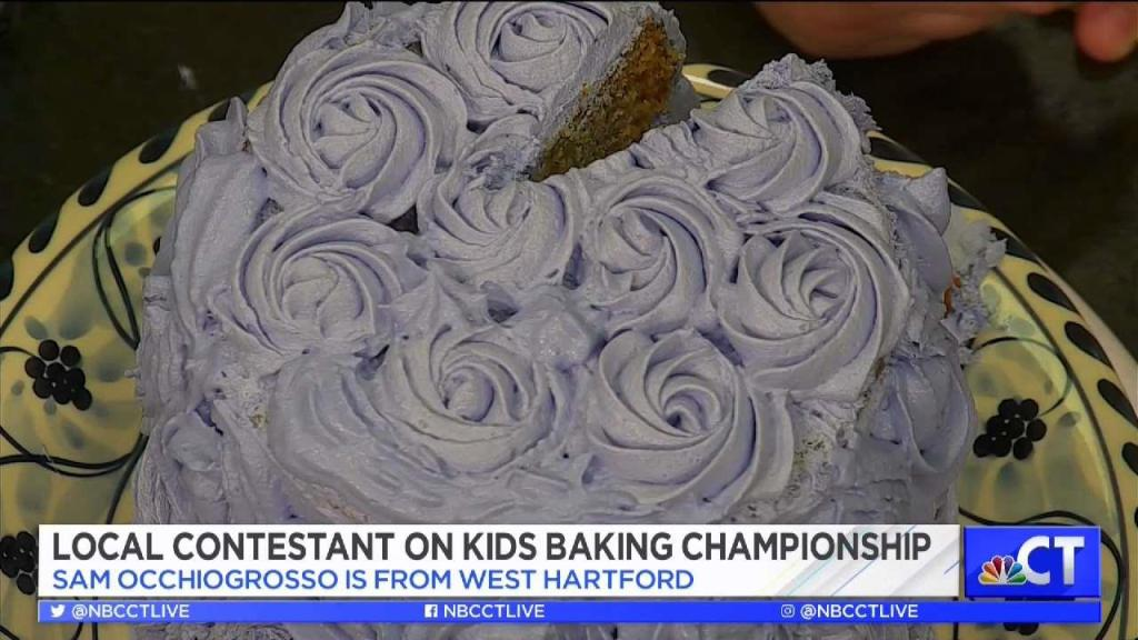 Groovy Ct Live 11 Year Old West Hartford Boy Competes On Kids Baking Funny Birthday Cards Online Sheoxdamsfinfo