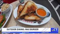 CT LIVE!: Outdoor Dining at Max Burger