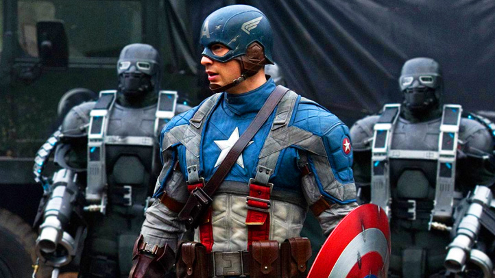 Captain America Chris Evans Movie Still