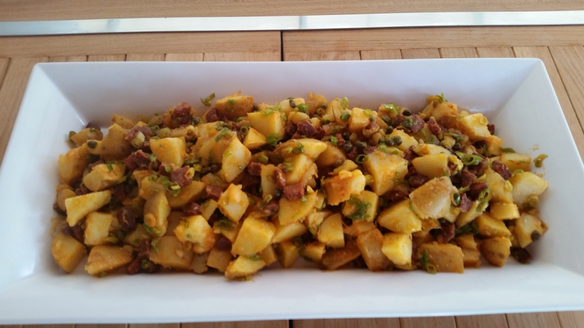 Chorizo Sausage Potato Salad