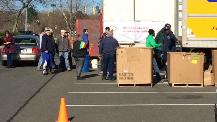 Comcast Recycling Drive 1200