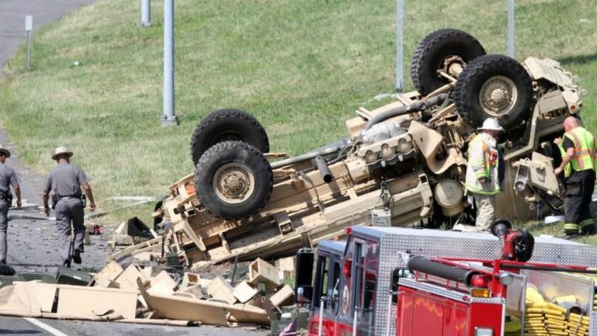 Connecticut National Guard truck Lohud