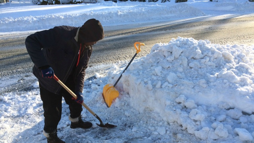 Connecticut clean up after the snow