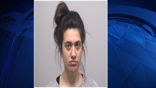 Booking photo of Courtney Sabia