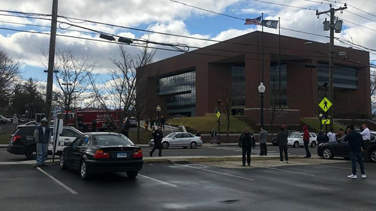 Superior Court in Danbury Evacuated Over White Powder Concerns