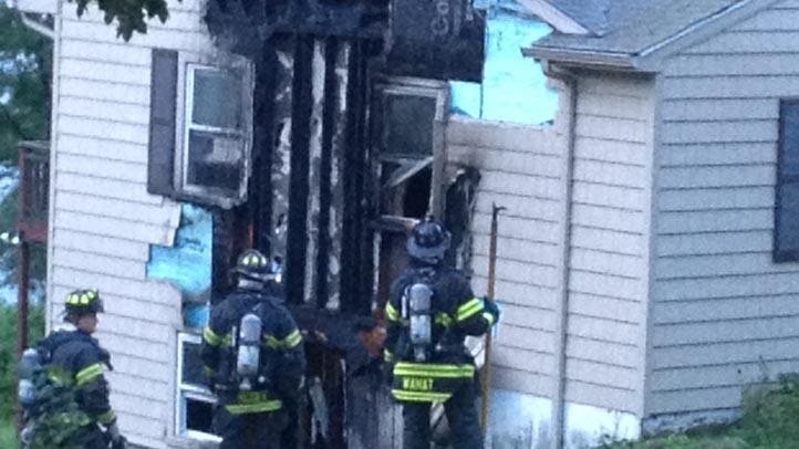 Danbury house fire
