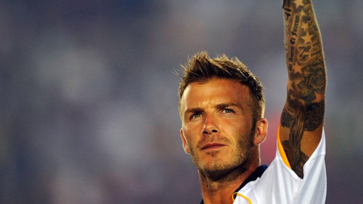 David Beckham cropped