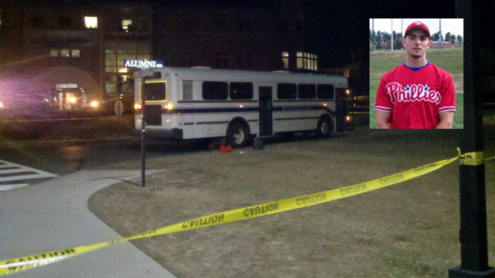 David Plamondon and UConn bus