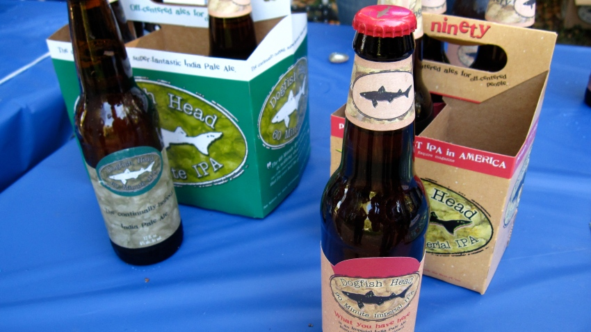 Dogfish Head 60 Minute and 90 Minute IPA