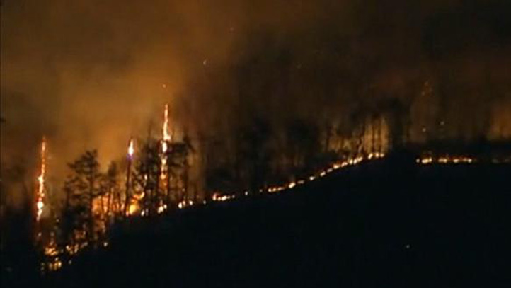 East Haddam bursh fire