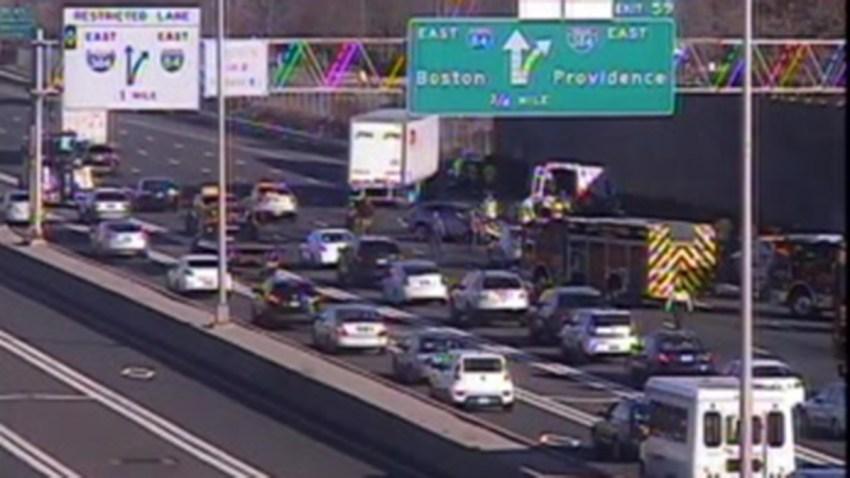 East Hartford crash Interstate 84 12102018