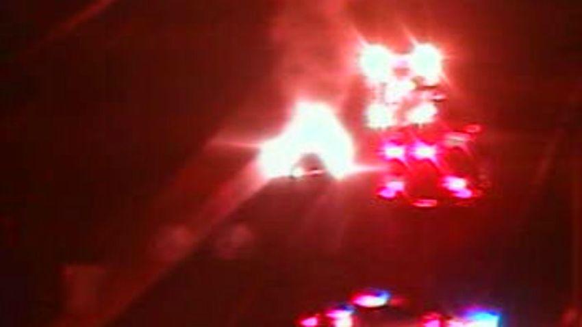 East Lyme car fire