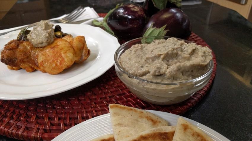 Eggplant-Tahini Puree