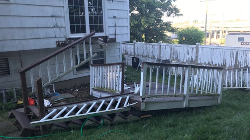Fairfield deck collapse